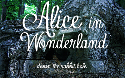 Chapter 1 – Down the Rabbit Hole (Alice in Wonderland)