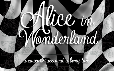 Chapter 3 – A Caucus-Race and a Long Tale (Alice in Wonderland)